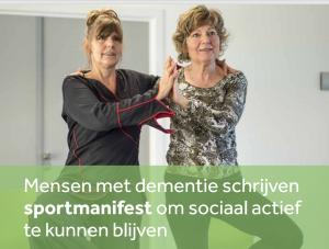 Laat mensen met dementie zo lang mogelijk genieten van wat ze graag doen