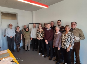 Terugblik tiende bijeenkomst 'Vlaamse werkgroep van mensen met dementie'