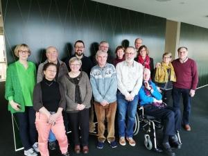Terugblik derde bijeenkomst 'Vlaamse werkgroep voor mensen met dementie'